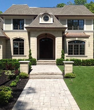 Luxury Front Yard Landscaping