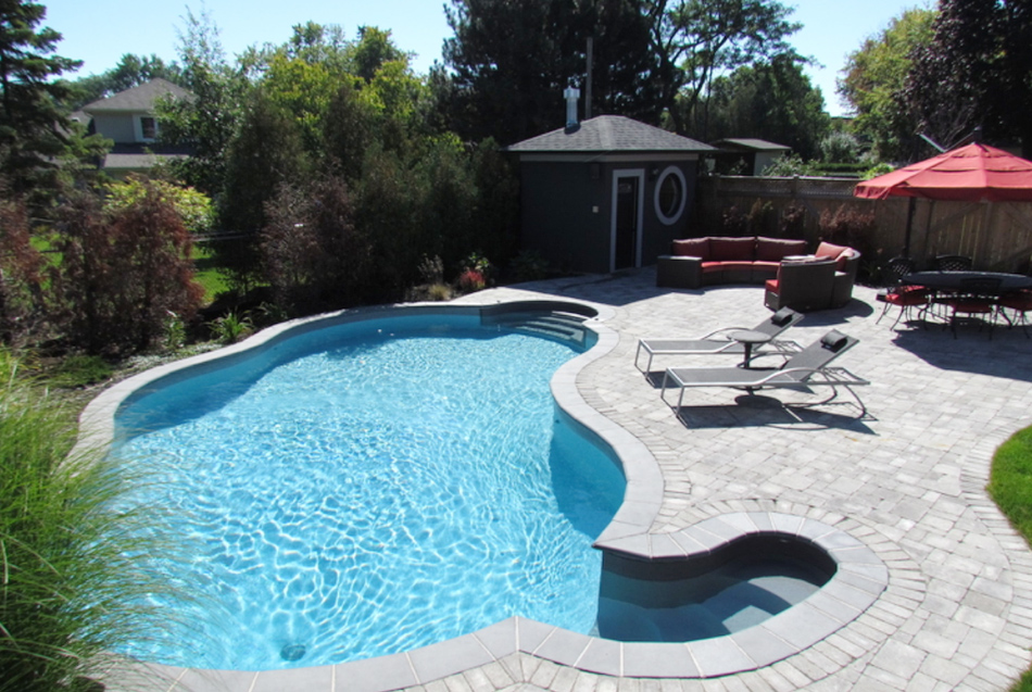 Backyard Landscaping Oakville : Couture landscapes our portfolio