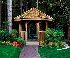Gazebo Construction, Gazebo Landscapers